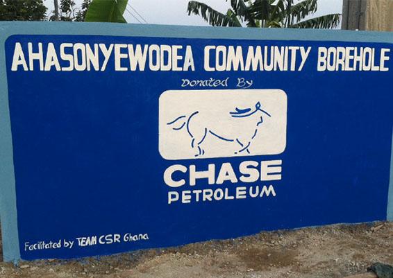 chase borehole
